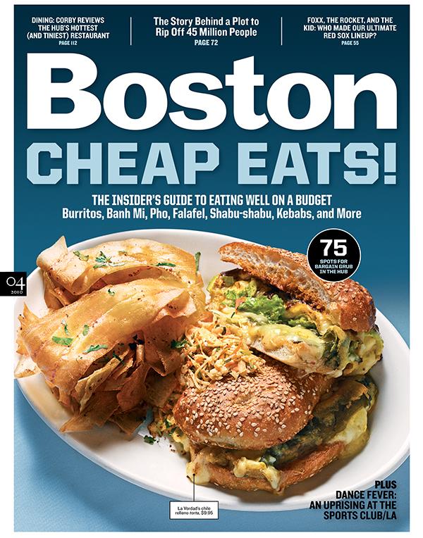 Cheap Eats in Boston 2010