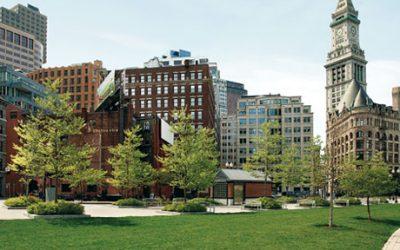 Boston's Wharf District