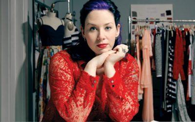 Fashion Designer Jackie Fraser-Swan