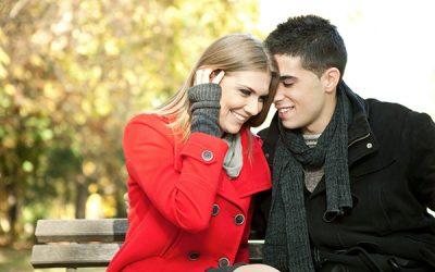 couple in fall