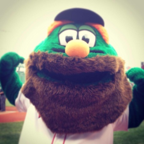 Does Wally The Green Monster Have Boston S Sexiest Beard