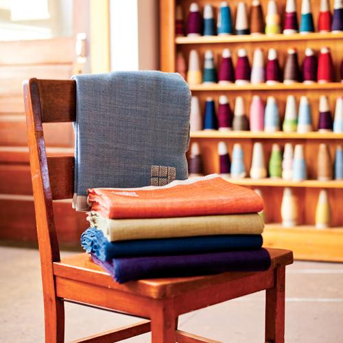 Dyed In Wool: Handmade Throws By Swan Island Blanket