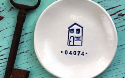 Zip code trinket dish photo.