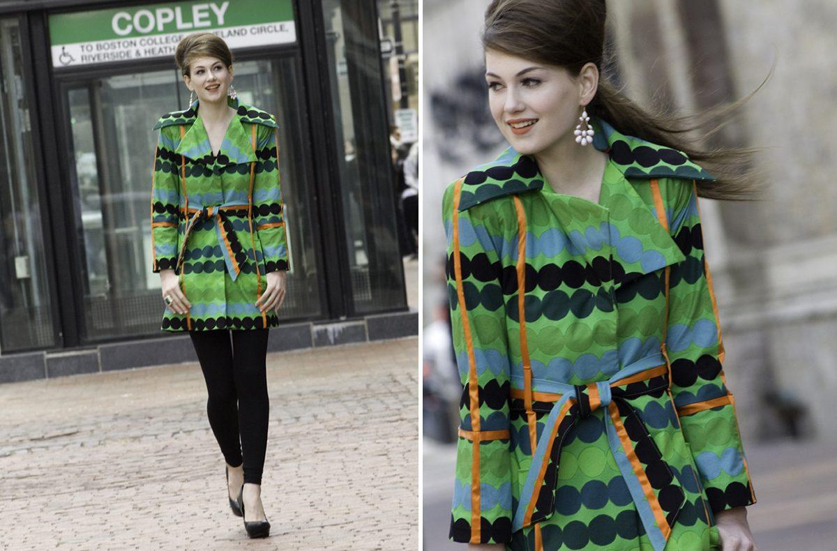 Fashion Design Students Make Spring Outerwear From Marimekko Prints