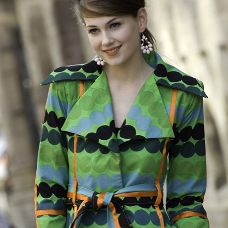 Fashion Design Students Make Spring Outerwear from Marimekko ...