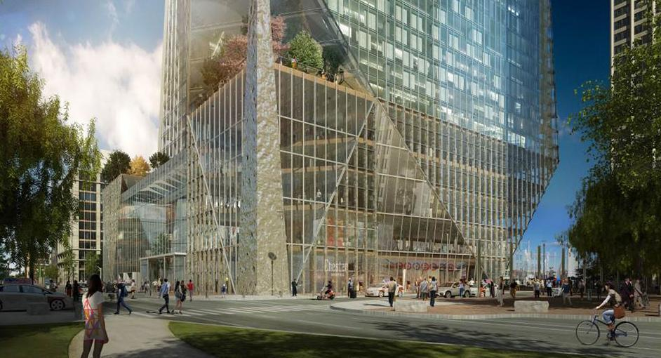 Check Out Renderings Of The Proposed Harbor Garage Towers