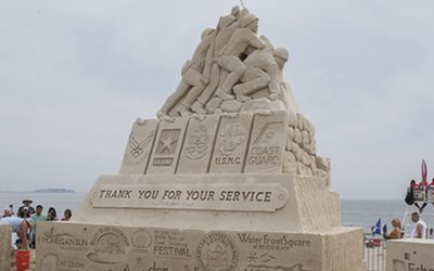 2014 revere beach national sand sculpting festival