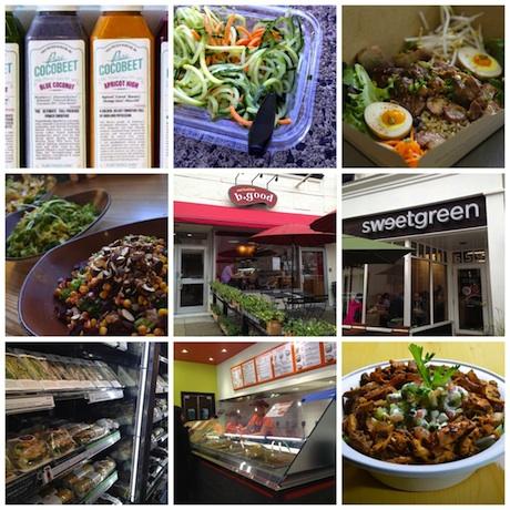 30 Healthy Lunch Spots in Boston