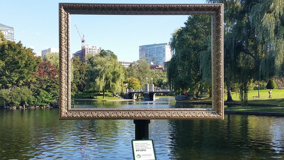 Frame Your Photos At The Public Garden With Fopg Boston Magazine