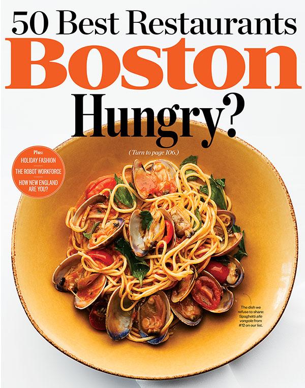 Best Restaurants In Boston 2014
