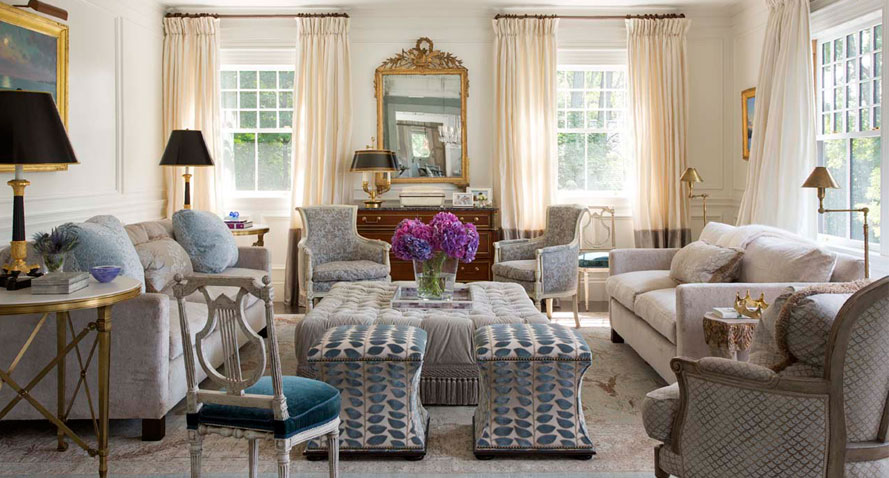 10 Beautiful Boston Area Living Rooms