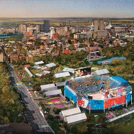 Olympics Backers Share Details of 2024 Bid Proposal