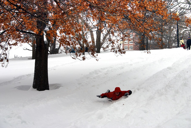 The Best Sledding Hills in Boston