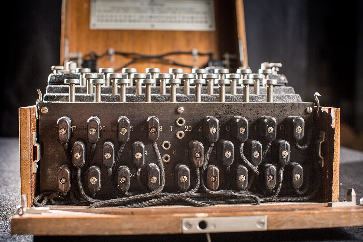 Enigma Machines on View at World War II Museum in Natick
