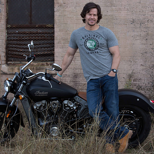 A First Look at Indian Motorcycle's Mark Wahlberg Collection