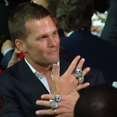Patriots Receive Their Huge Diamond Encrusted Super Bowl Rings At Private Party Boston Magazine
