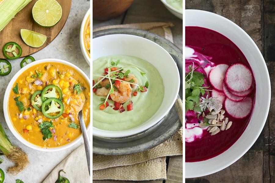 healthy summer soups