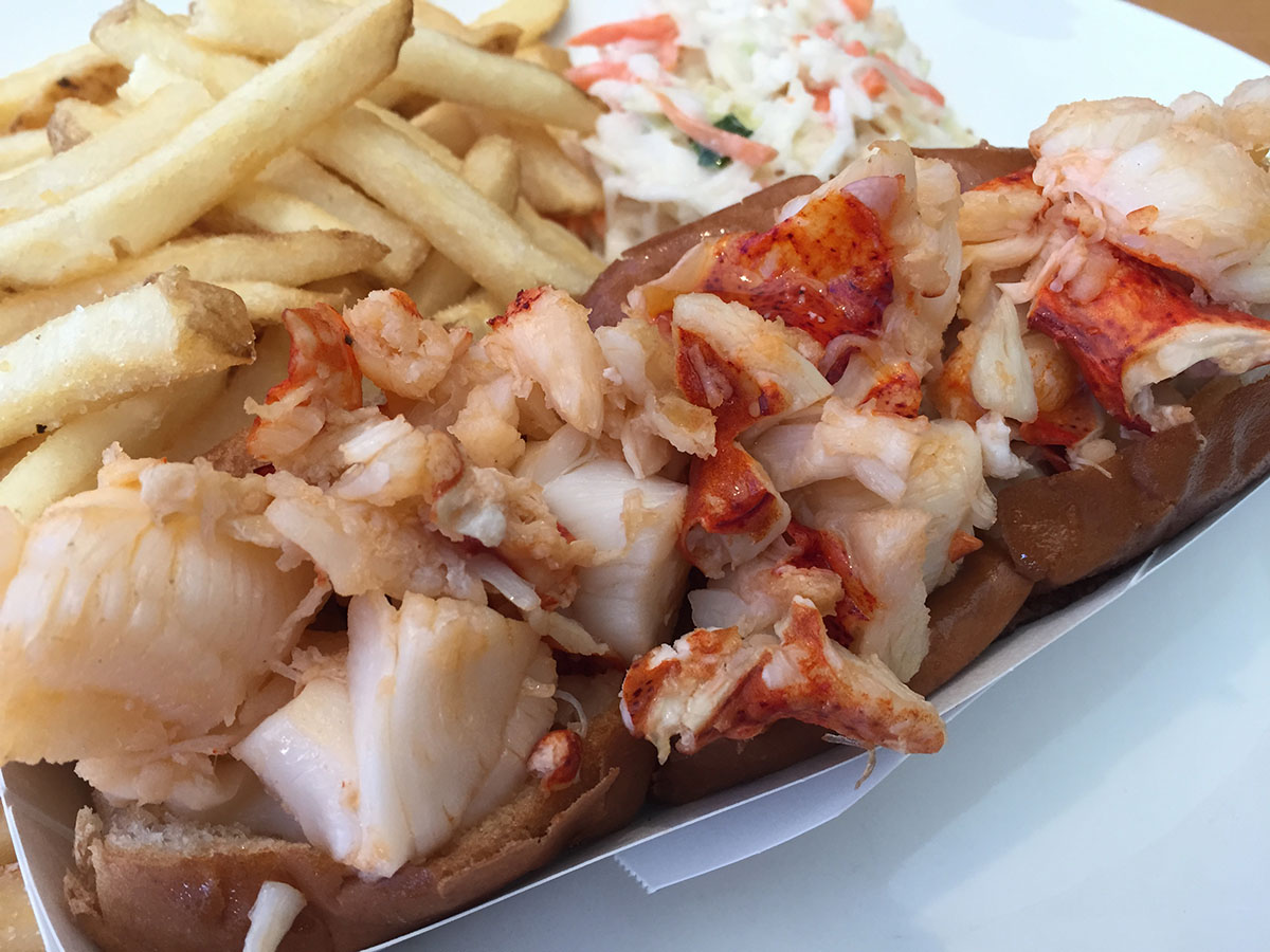 Legal Sea Foods Butter-Poached-Lobster Roll