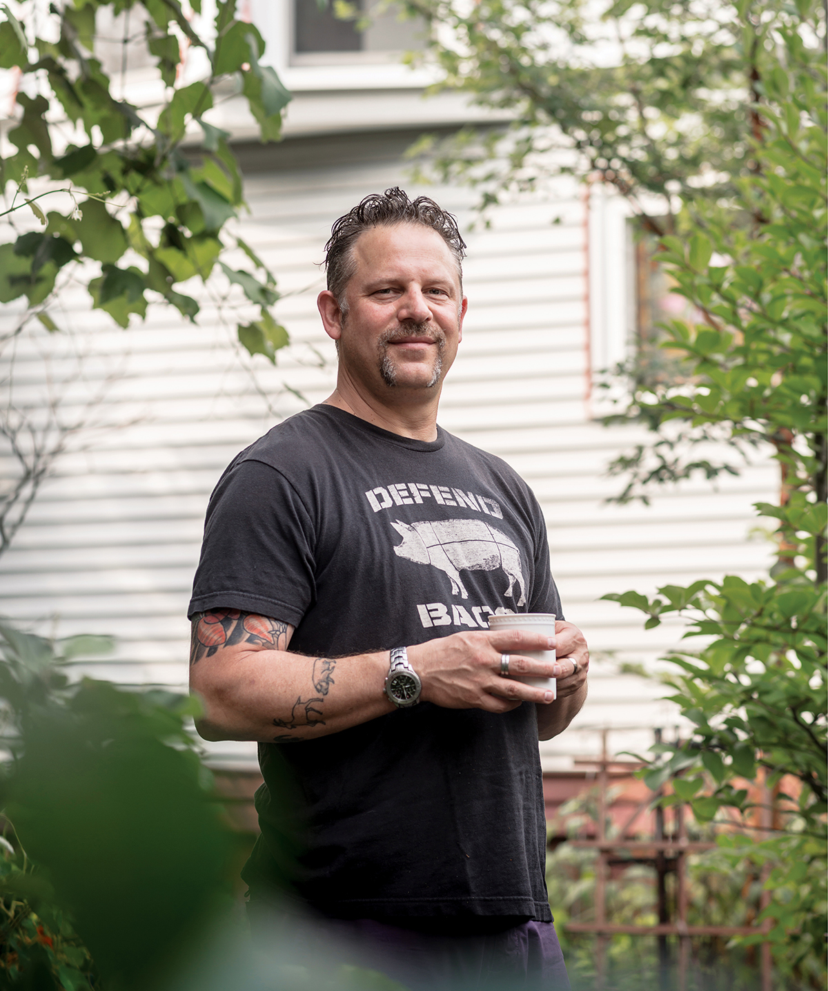 The Smoke Shop BBQ chef and pitmaster Andy Husbands