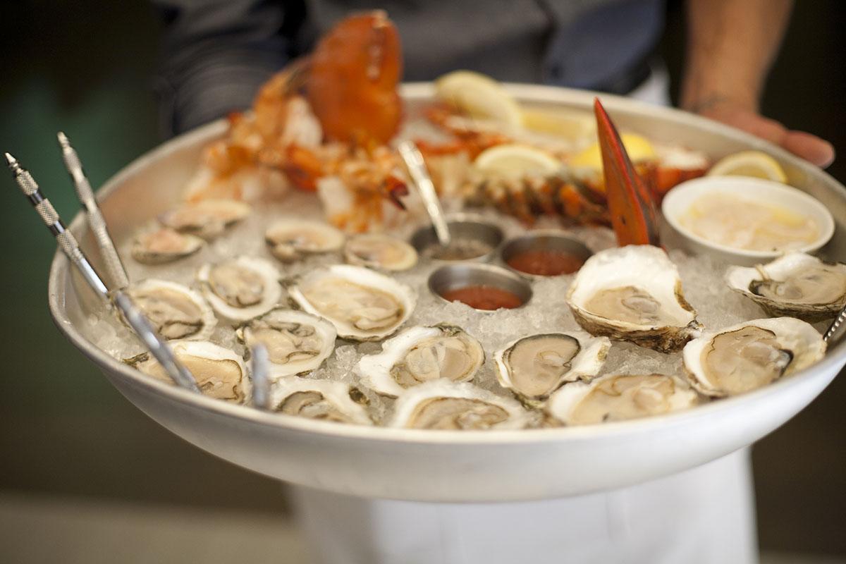 Island Creek Oyster Bar's oysters
