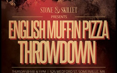 English Muffin Pizza throwdown