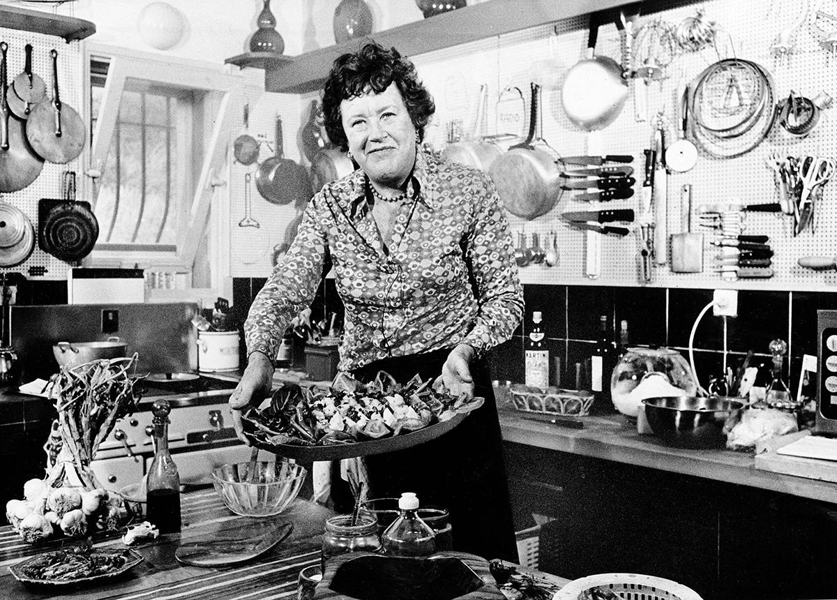 Julia Child french kitchen