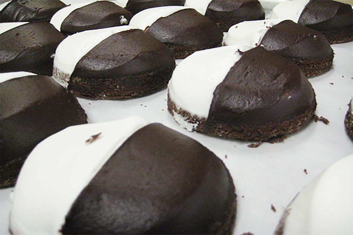 Half Moon Cookies at Lyndell's Bakery