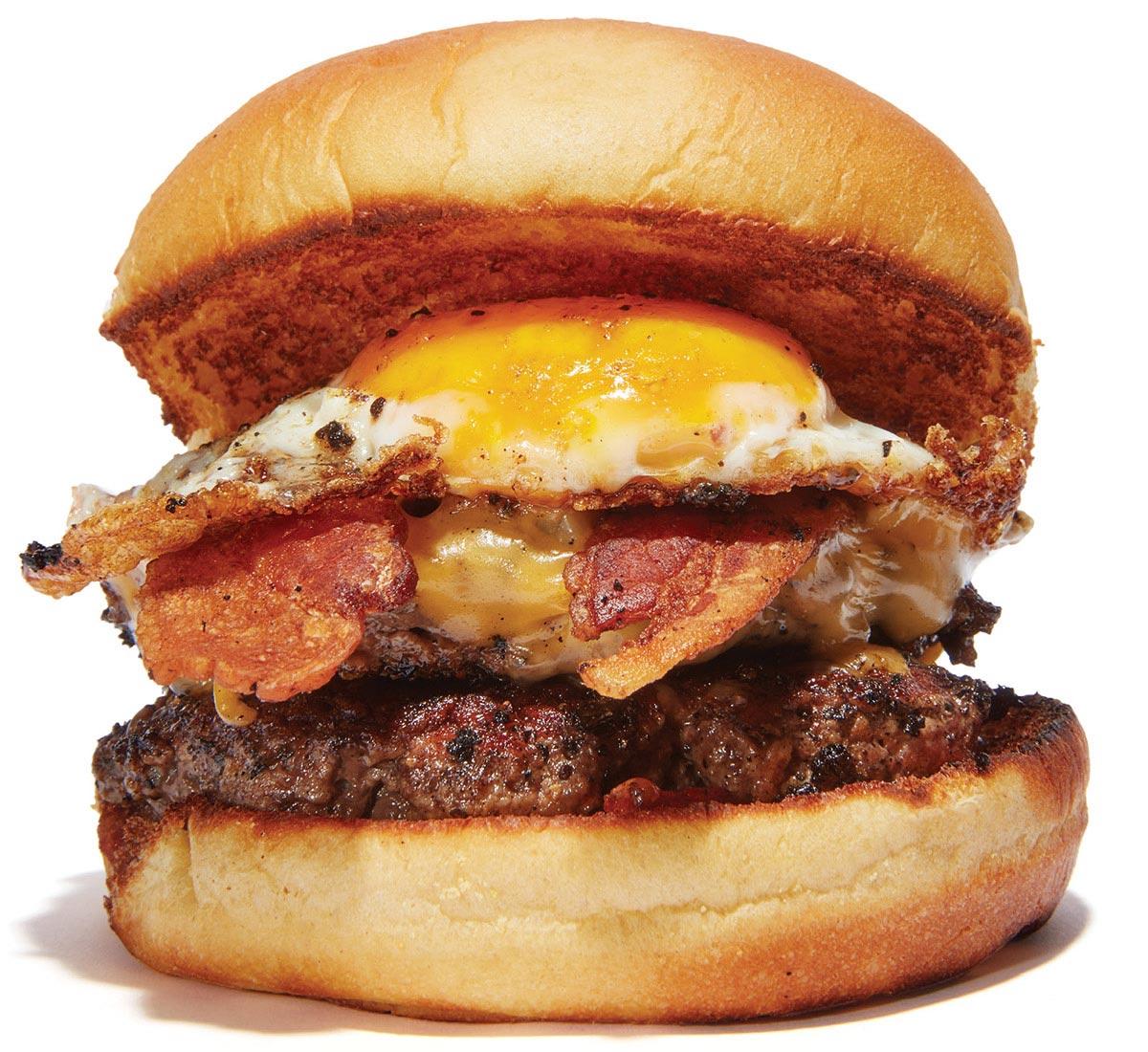 The Wheelhouse breakfast burger