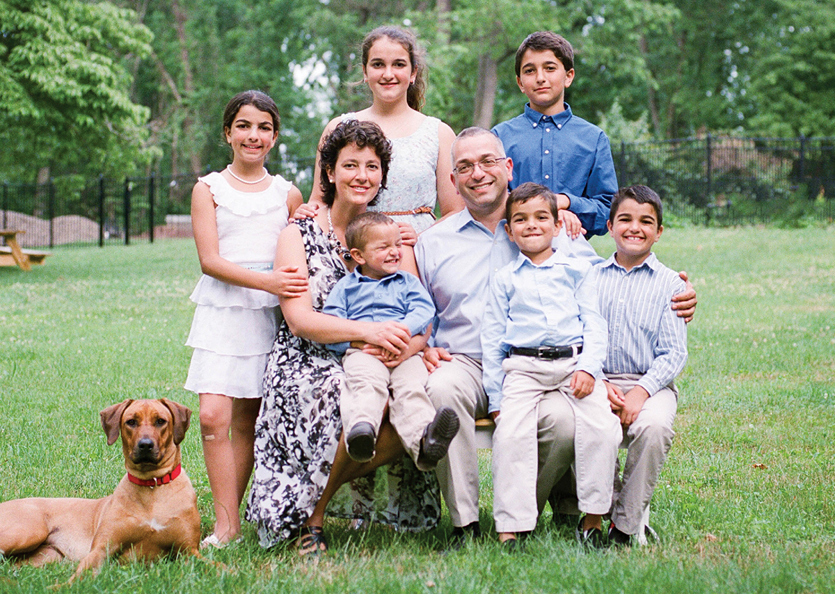 Amy Reed Hooman Noorchashm Family