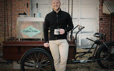 Brad Pillen and the Coffee Trike