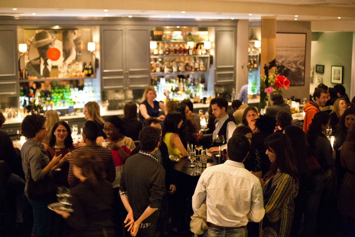 The Hawthorne bar Boston