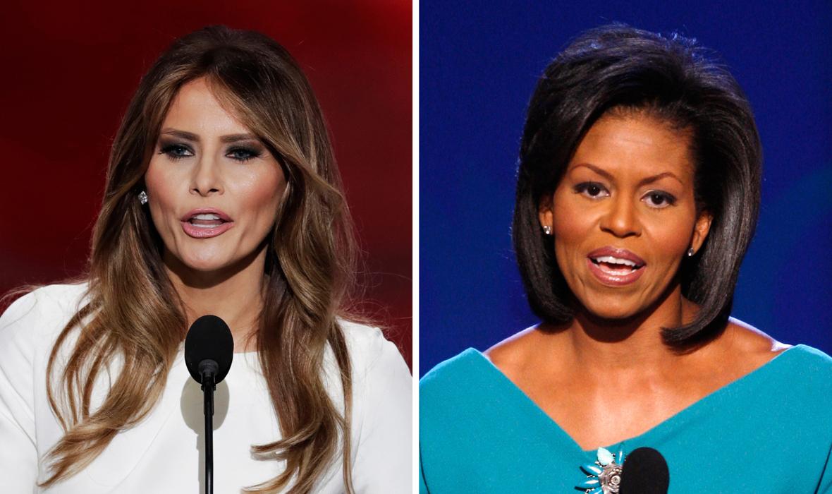 melania trump michelle barack obama deval patrick plagiarism