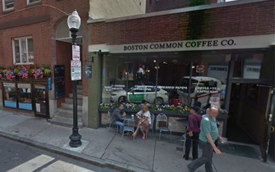 Boston Common Coffee Co. on Salem Street
