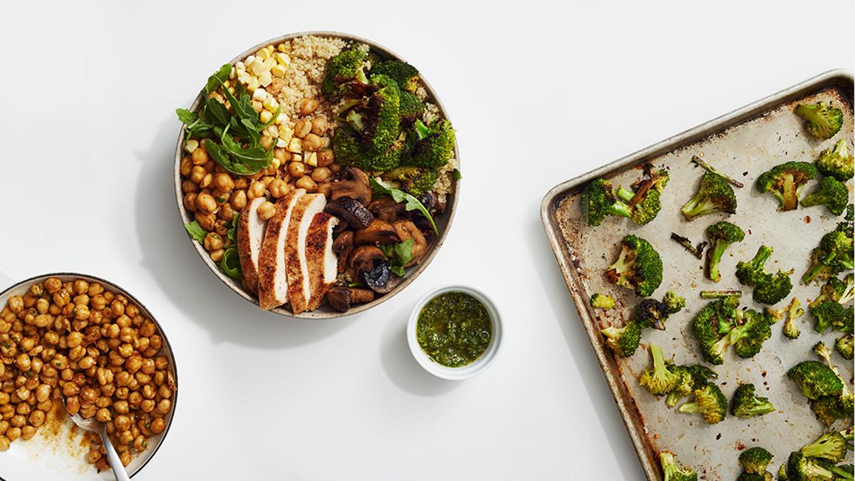 Sweetgreen Pesto Portobello bowl