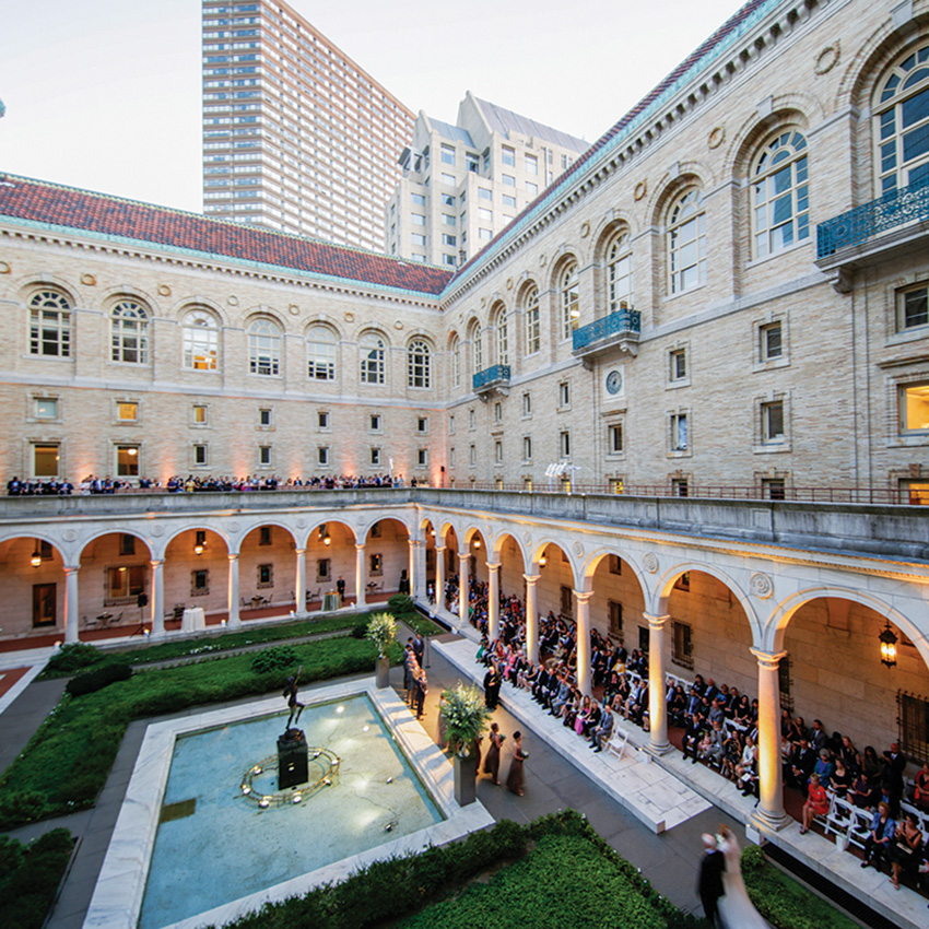 Boston Public Library Wedding.Boston Public Library Best Wedding Venue In Boston