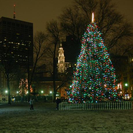 - Boston Common Tree Lighting Costs Canadians $242,000