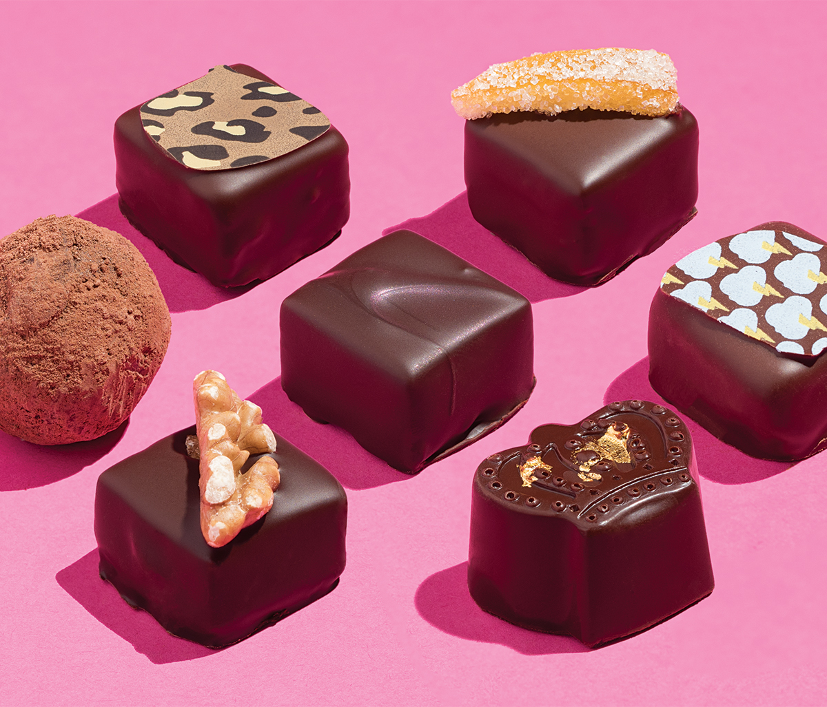 gate comme des filles chocolates