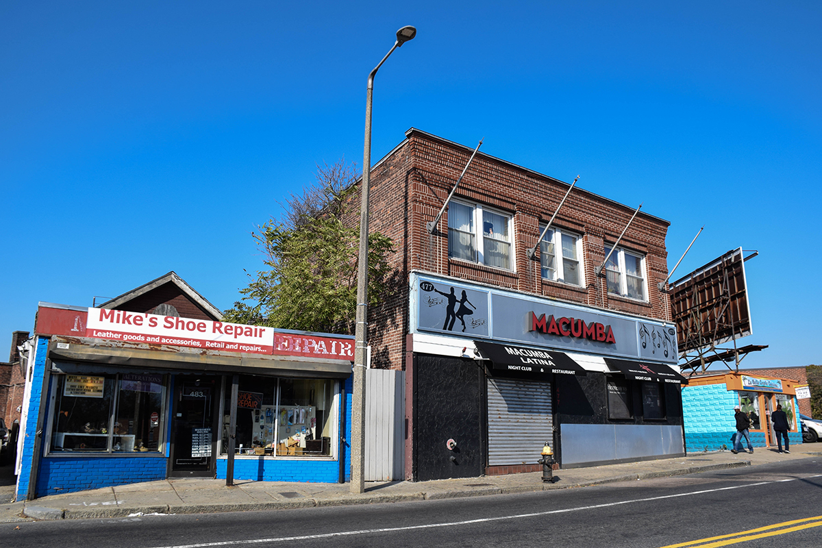 MACUMBA LATINA nightclub, one of only TWO Mattapan VENUES WHERE ALCOHOL CAN BE SERVED
