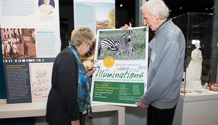 Mass General Cancer Center's Illuminations Rotating Art Exhibit: An