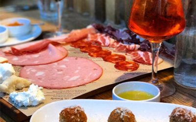 Eataly Boston charcuterie and cocktails