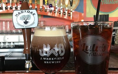 Mad Oak Coffee Roasters is available on draft at Lulu's Allston