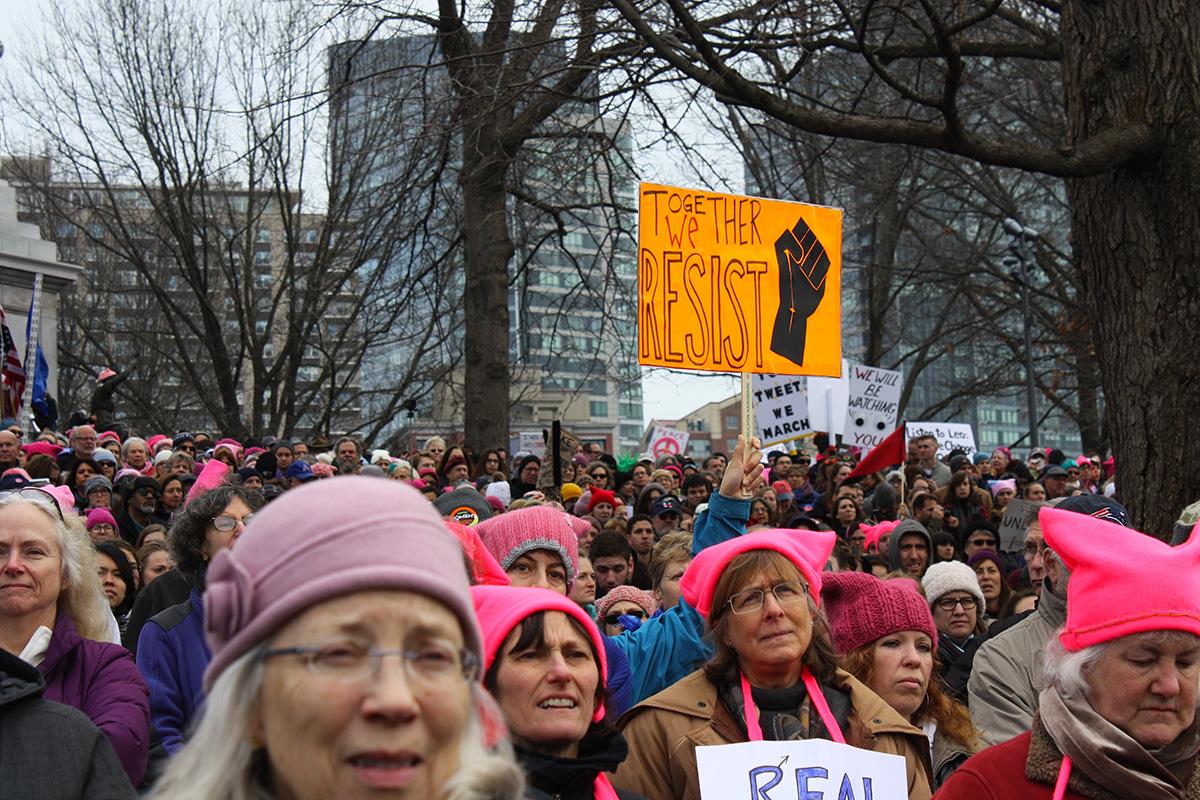 boston womens march