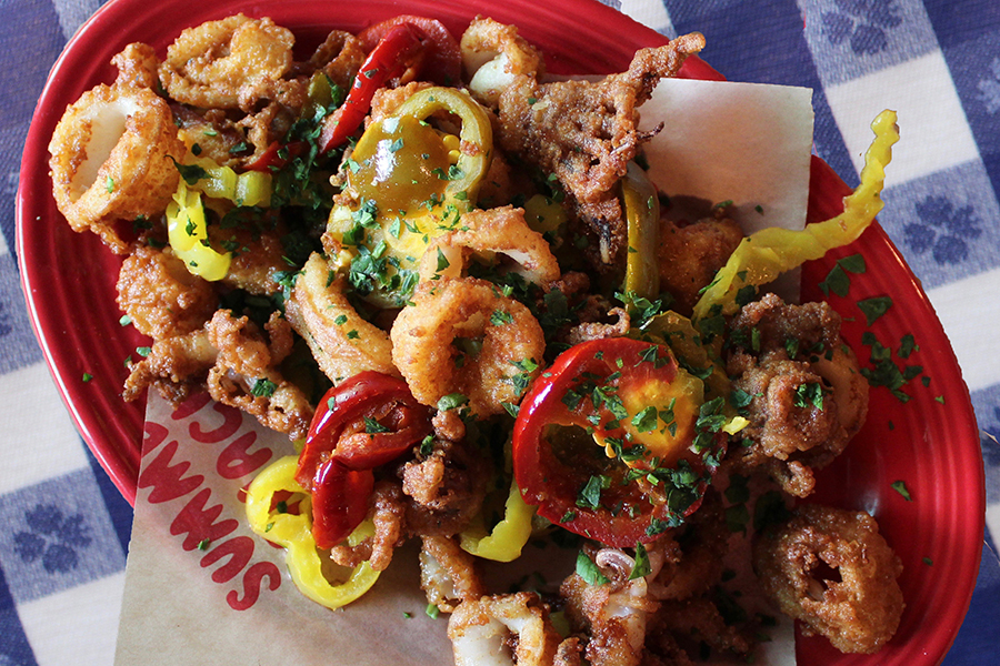 Rhode Island-style calamari at Summer Shack