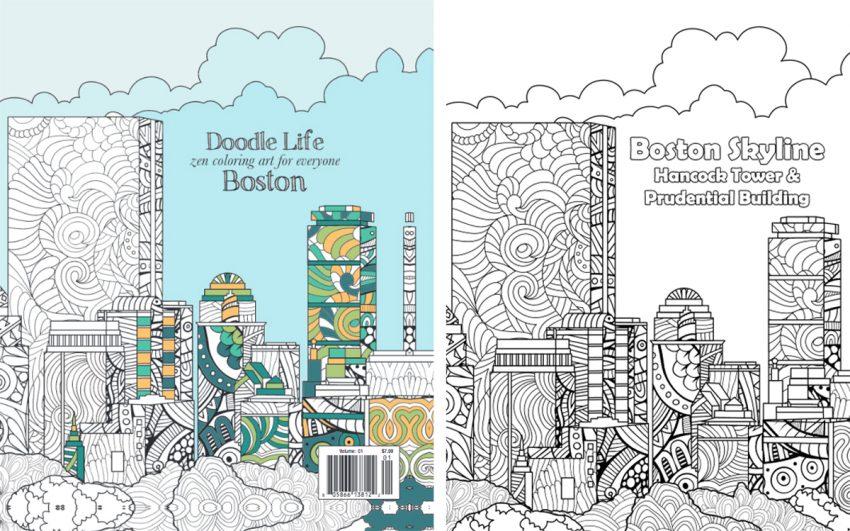 boston coloring book