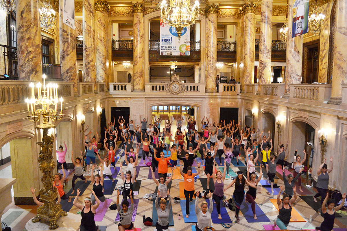 Wang Theatre yoga