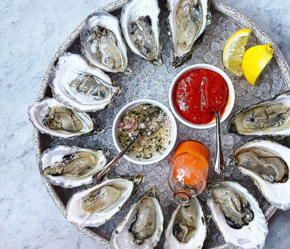 Oysters at Waypoint at $1 every evening from 5-7 p.m.