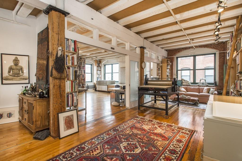 On The Market An Artist S Loft In Fort Point