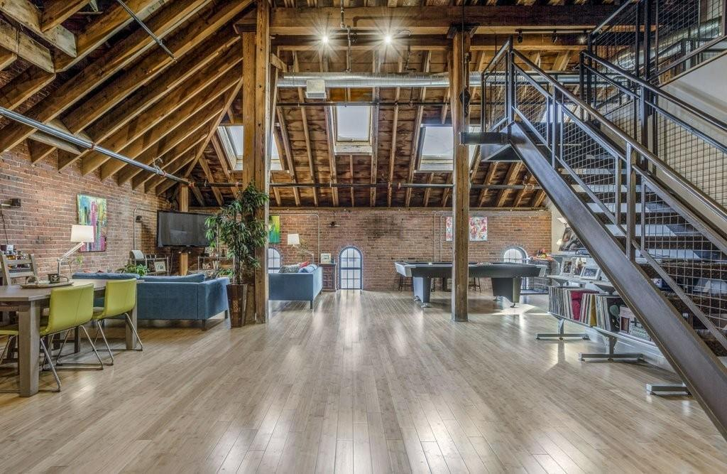On The Market A Jaw Dropping Jamaica Plain Loft