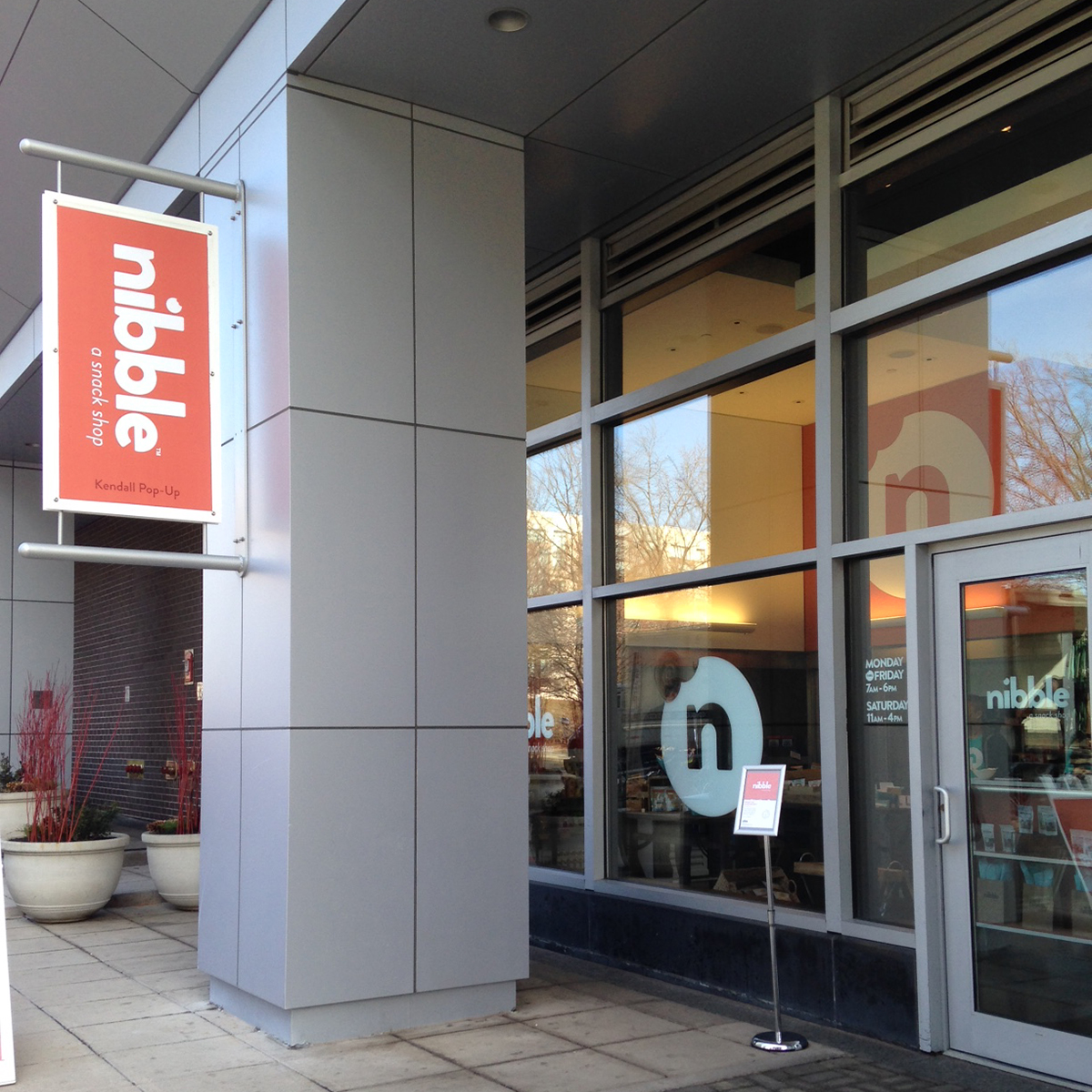 Nibble, a new pop-up snack shop in Kendall Square