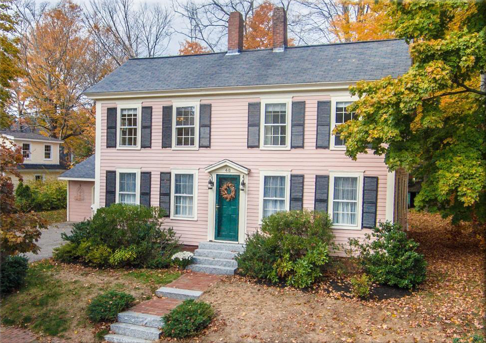 Superb Five Pink Homes For Sale In Massachusetts Download Free Architecture Designs Meptaeticmadebymaigaardcom